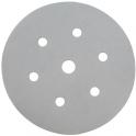 Disque velcro auto-agrippant 6 trous - Ø150 mm - Grain 220 - Q-silver - Mirka