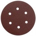 Disque papier auto-agrippant 6 trous - Ø150 mm - Grain 100 - SIA Abrasives