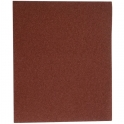 Papier abrasif corindon - 230 x 280 mm - Grain 100 - Support toile - SIA Abrasives