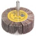 Roue à lamelles sur tige - Ø 60 mm - Grain 120 - SCID