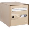 Boîte aux lettres beige simple face - Master Box - Decayeux