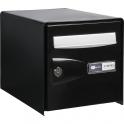 Boîte aux lettres noire double face - Probox - Decayeux