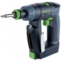 Perceuse visseuse - CXS set EU - Festool