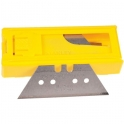 Lame de couteau réversible - Petit trapèze - Étui plastique 10 pièces - Stanley