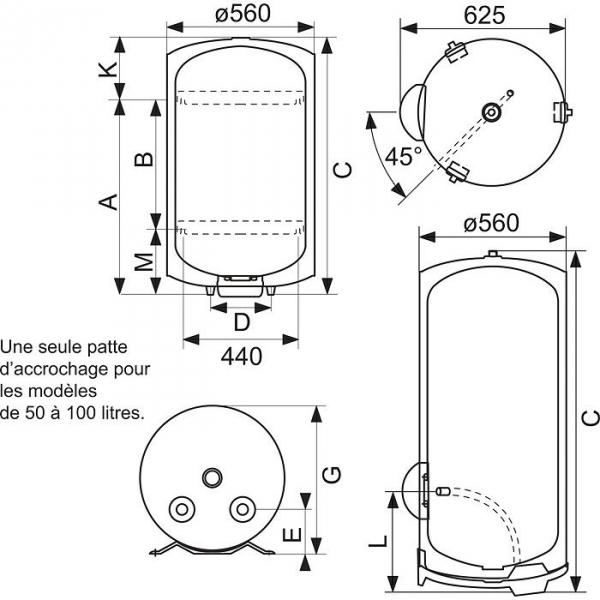 chauffe eau sageo 300 l sur socle monophas 3000 w ariston cazabox. Black Bedroom Furniture Sets. Home Design Ideas