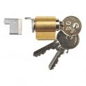 Cylindre fermeture encastré - Profile 35 à 39 mm - La croisée DS