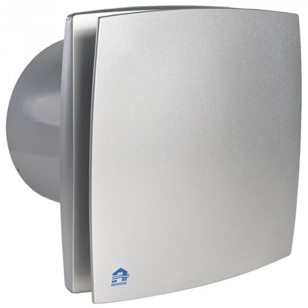 Extracteur d 39 air temporis d tection humidit 125 mm 167 m h r - Extracteur d air pour salle de bain ...