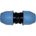 Raccord plastique droit à serrage - Ø 32 mm - Unistar