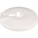 Rosace plastique blanche - Ø 56 / 18 mm - F 3/8'' - Coditherm