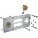 """Sortie de cloison double à compression - Entraxe 150 mm - PER Ø 12 mm - F 1/2"""" - Robifix - Watts industrie"""