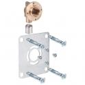 "Sortie de cloison simple à sertir - PER Ø 16 mm - F 1/2"" - Robifix - Watts industrie"