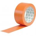 Adhésif PVC plastifié orange - 75 mm - 33 m - Antalis