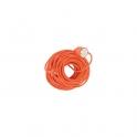 Rallonge extérieur orange - 50 m - 3G1,5 mm2 - Dhome