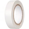 Ruban adhésif isolant blanc - 15 mm - 10 m - Dhome