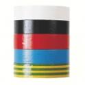 Ruban adhésif isolant - Assortiment de 5 - 15 mm - 10 m - Dhome