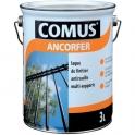 Peinture-laque antirouille noire brillante - 3 L - Ancorfer - Comus