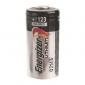 Pile lithium 3 V - CR123A - CR17345 - Ultimate Lithium - Energizer