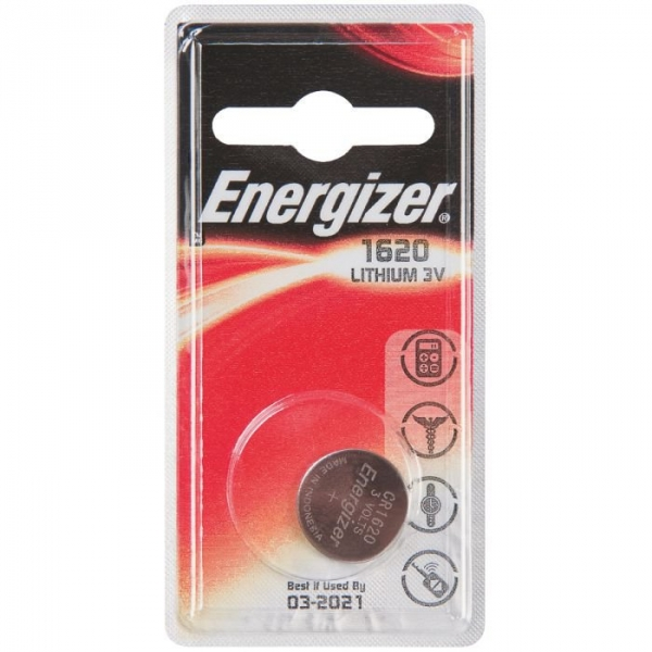 pile bouton lithium 3v cr1620 energizer cazabox. Black Bedroom Furniture Sets. Home Design Ideas