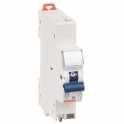 Disjoncteur 1 P+N C2 - 4,5 KA courbe C - 10 A - 1 module - Connexion auto / auto - Fixmatic - Gewiss
