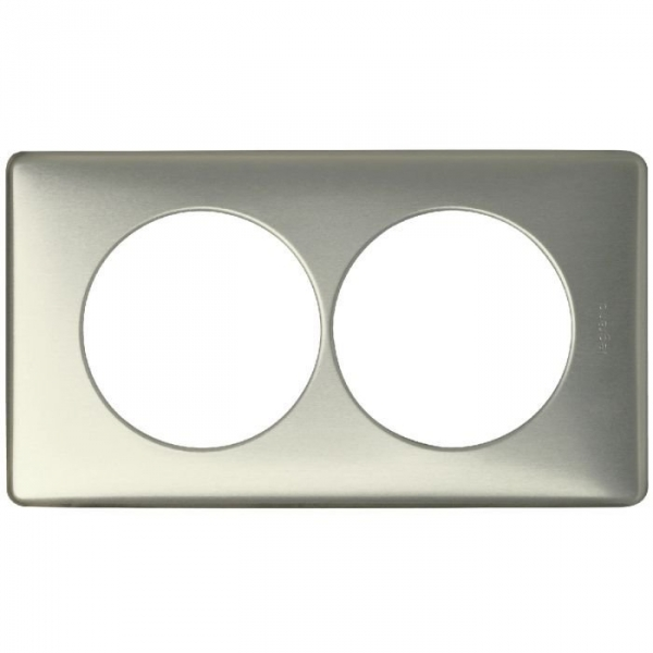 plaque cooper 2 postes c liane legrand cazabox. Black Bedroom Furniture Sets. Home Design Ideas