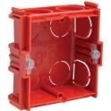 Boîte d'encastrement maçonnerie - 71 x 71 x 50 mm - 1 poste - Batibox - Legrand