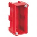 Boîte d'encastrement maçonnerie - 74 x 35 x 40 mm - 1/2 poste - Batibox - Legrand