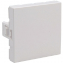 Obturateur blanc - 2 modules - Mosaic - Legrand