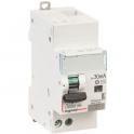 Disjoncteur différentiel DX³ 4500 - 6 kA courbe C - Type AC - 10 A - 2 modules - Connexion auto / vis - Legrand