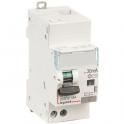 Disjoncteur différentiel monobloc DX³ 6000 - 10 kA courbe C - 16 A - Sensibilité 30 mA - 2 modules - Connexion auto / vis - Legr