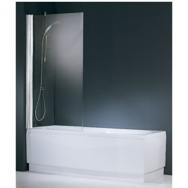pare baignoire verre transparent 1 ventail 150 x 70 cm aurora novellini cazabox. Black Bedroom Furniture Sets. Home Design Ideas