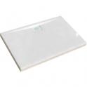 Receveur de douche rectangulaire blanc - 120 x 80 x 10 cm - Kinecompact - Kinedo