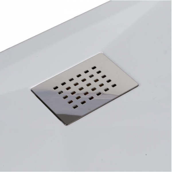 Receveur de douche carr blanc 100 x 80 cm kinesurf kinedo cazabox - Receveur de douche 100 x 80 ...