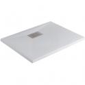Receveur de douche carré blanc - 90 x 70 cm - Kinesurf - Kinedo