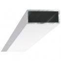 Profilé de compensation blanc - 15 x 35 mm - Lunes - Novellini
