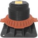 Pied adhésif réglable - 90 à 125 mm - Pour receveur de douche - Regiplast