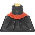 Pied adhésif réglable - 100 à 150 mm - Pour receveur de douche - Regiplast