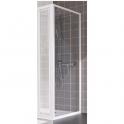 Paroi de douche fixe verre transparent - 90 cm - Atout 2- Leda
