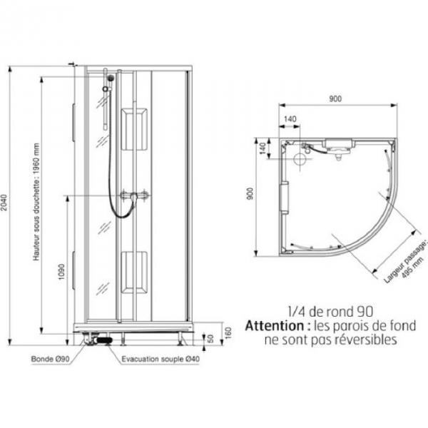 izibox finest amazing cabine de douche leda izibox x pour idee de salle de bain belle cabines. Black Bedroom Furniture Sets. Home Design Ideas