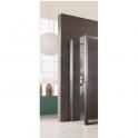 Paroi de douche fixe verre transparent - 90 cm - Jazz - Leda