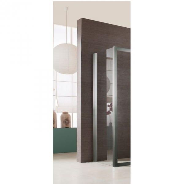 paroi de douche fixe verre transparent 90 cm jazz leda cazabox. Black Bedroom Furniture Sets. Home Design Ideas