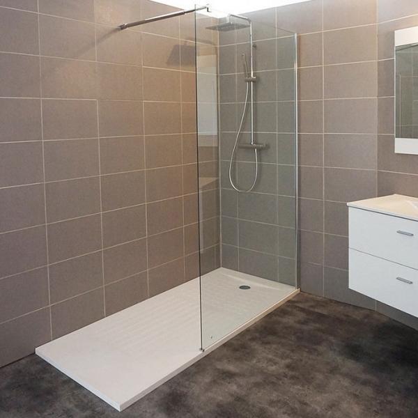receveur de douche rectangulaire d coupable blanc 190 x 90 cm oasis cr azur cazabox. Black Bedroom Furniture Sets. Home Design Ideas