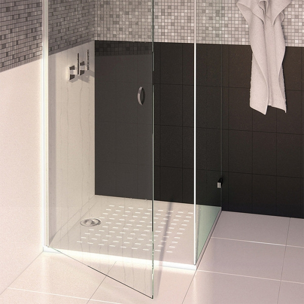 receveur de douche carr blanc 90 x 90 cm resisol cr azur cazabox. Black Bedroom Furniture Sets. Home Design Ideas