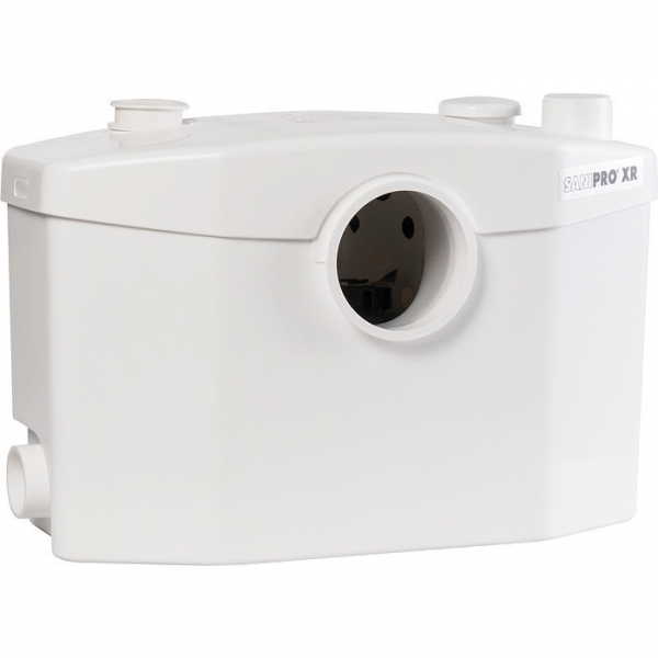 broyeur sanitaire 4 postes 400 w sanipro xr silence sfa cazabox. Black Bedroom Furniture Sets. Home Design Ideas