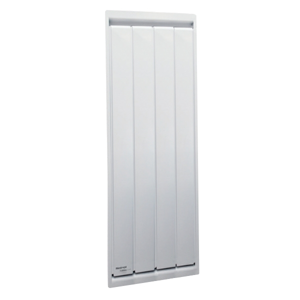 radiateur vertical calidou 1000 w noirot cazabox. Black Bedroom Furniture Sets. Home Design Ideas