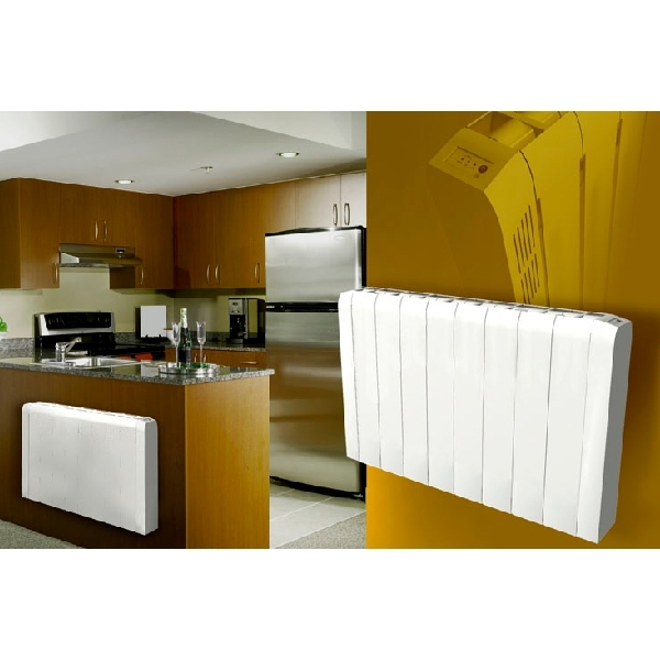 radiateur bas briques 2000 w mdc cazabox. Black Bedroom Furniture Sets. Home Design Ideas