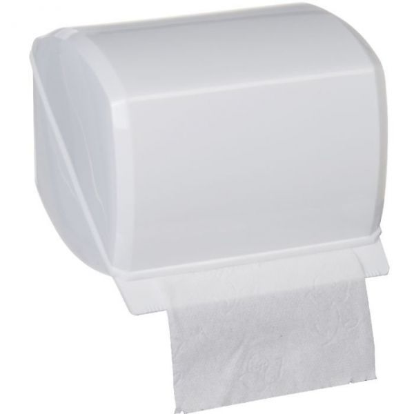 Distributeur papier wc blanc gilac cazabox - Distributeur papier wc design ...
