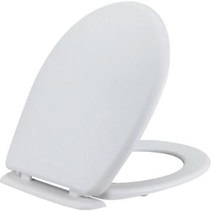 Abattant WC Blanc double - Beaulieu - Siamp
