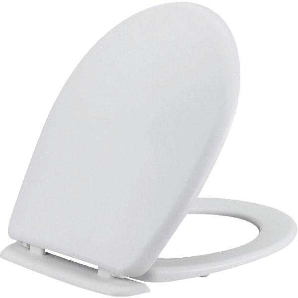 Abattant wc blanc double beaulieu siamp cazabox - Abattant wc capitonne ...