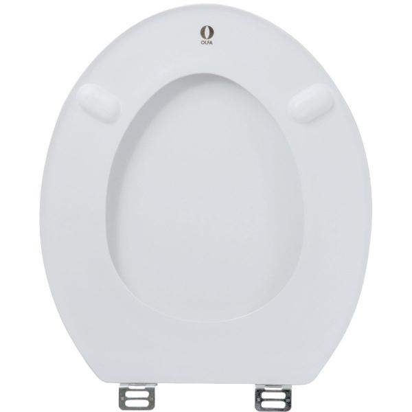 Abattant WC Blanc double  Europe  Olfa  Cazabox