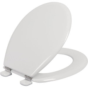 Abattant WC Blanc double - Tradition - Olfa